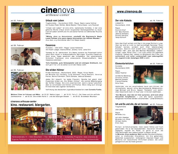 Cinenova Arthouse-Center
