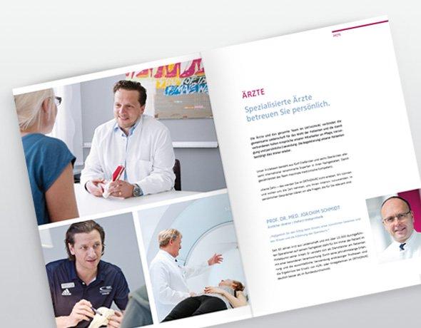 ORTHOPARC-Klinik Köln Imagebroschüre
