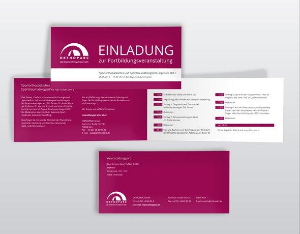 ORTHOPARC-Klinik Köln Weihnachtskarte