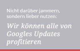 Googles Updates nutzen