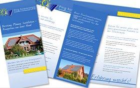 Pirig Solarenergie, Info-Folder