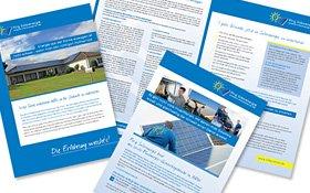 Prirg Solarenergie, Steuer-Sonderveröffentlichung