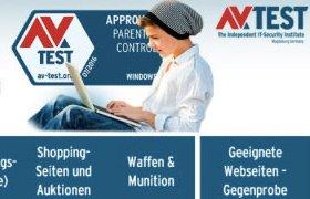Kinderschutzsoftware im AV-Test