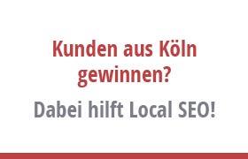 Local SEO hilt dabei, Kunden aus Köln zu gewinnen