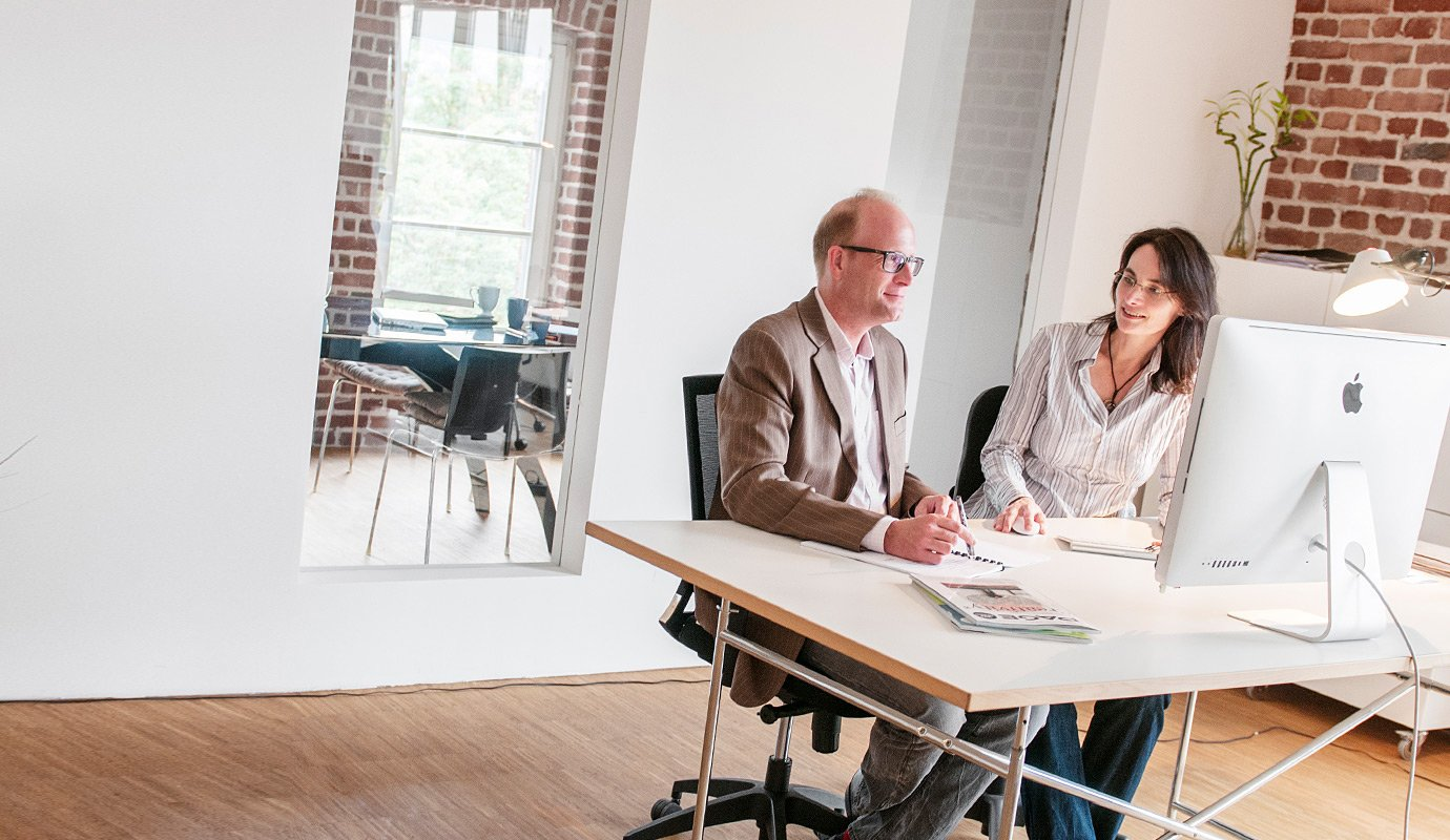 Marketingagentur Köln-Ehrenfeld, Beratungsgespräch