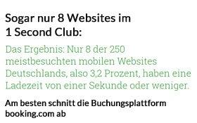 Mobile Ladezeiten von Websites