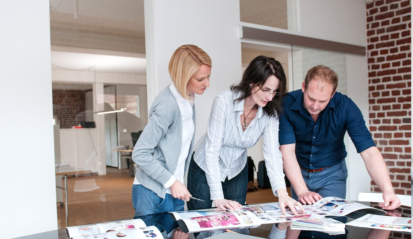 Als Werbeagentur zählt auch die Kontrolle der Printmedien zu unseren Aufgaben.