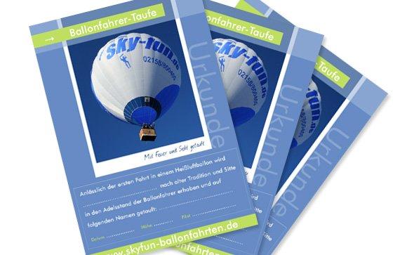 sky-fun Ballonfahrten