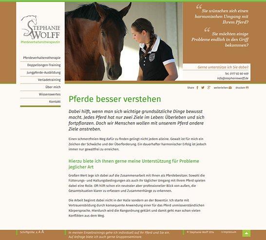 Pferdeverhaltenstherapie