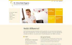 Dr. Dorothee Higgins, Fachärztin für Frauenheilkunde