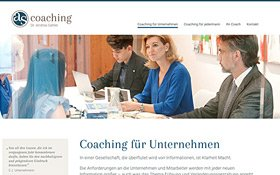 Webdesign für Berater, AS Coaching, Thumb