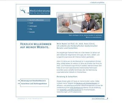 Medizinberatung-greve-webdesign-koeln-kundenstimme