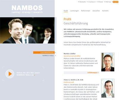 Nambos, Kundenstimme Webdesign Köln