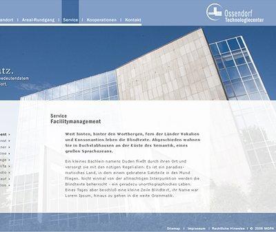 Webdesign Köln, Kundenstimme Ossendorf Technologiecenter