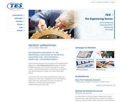 Webdesign Köln, Kundenstimme TES Group