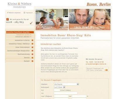Webdesign Köln, Kundenstimme Nöthen & Nöthen Immobilien