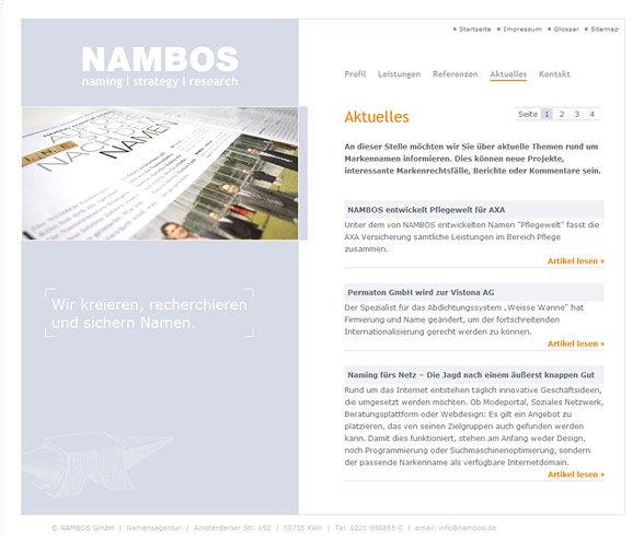 NAMBOS Köln