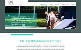 Webdesign Reiten mit Fairstand, Thumb