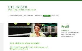 Webseite Ute Frisch